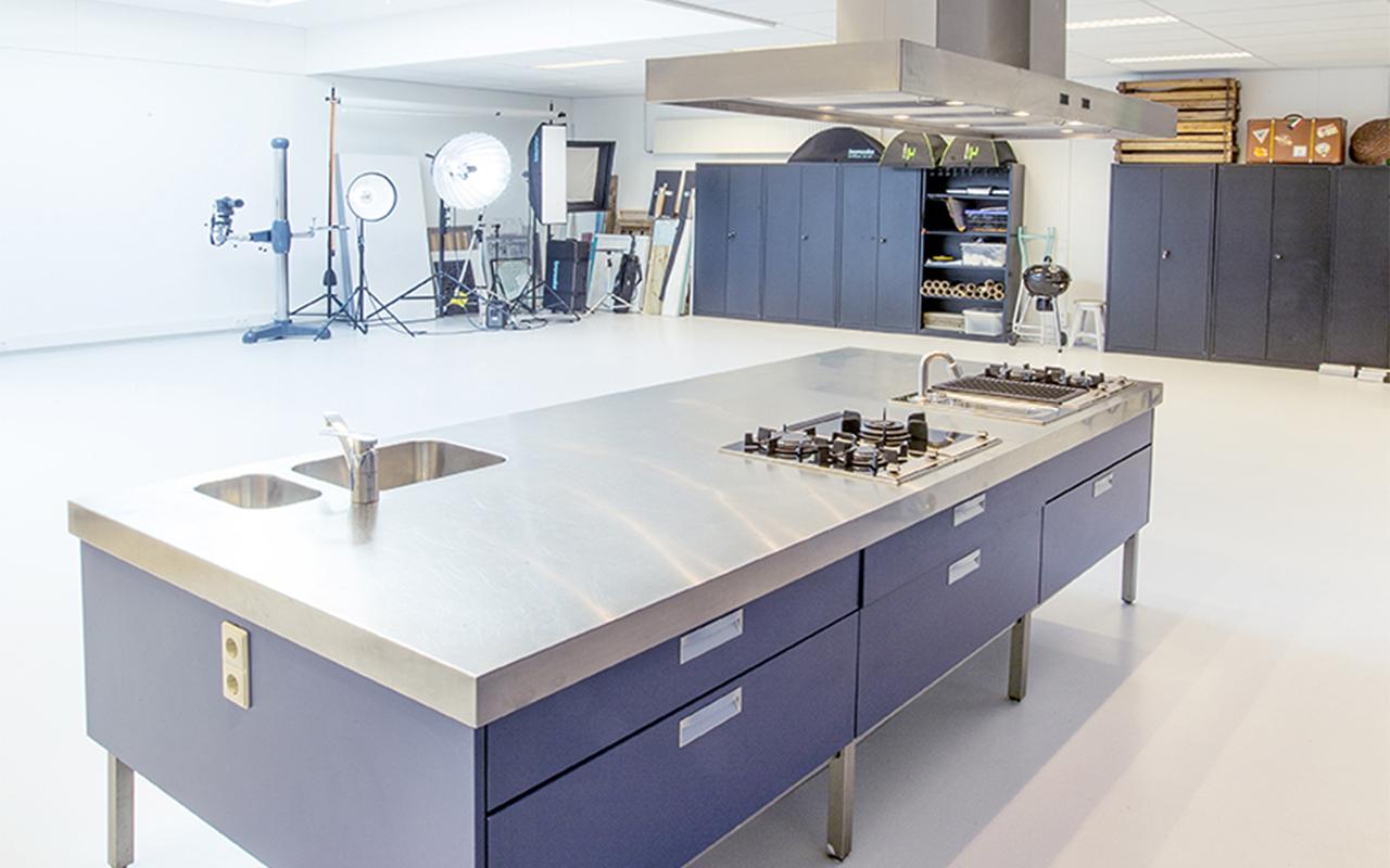 iMediate kook en fotostudio kookeiland