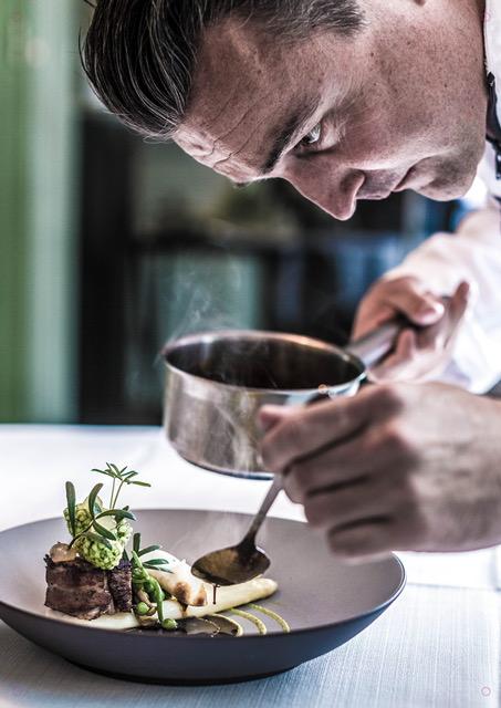 chef - foto van Jasper Bosman voor Exclusief