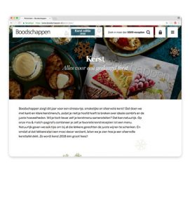 boodschappen online kerst