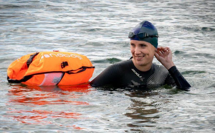 iMediate Petra zwemt elfstedentocht